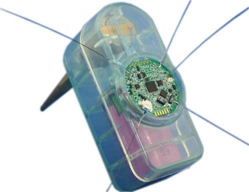 Mesh Networked Sensor with Geophone