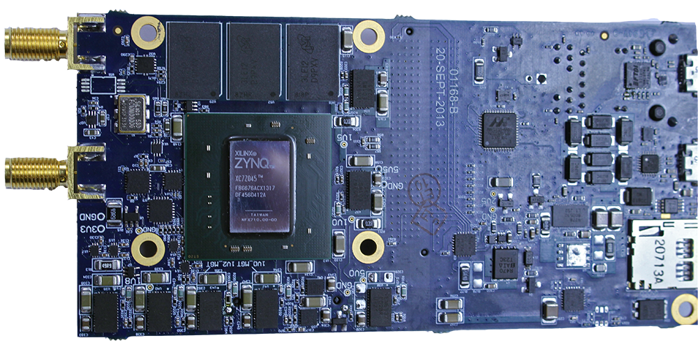 XSDR LPFE DSP Base Card